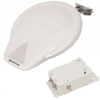 Outdoor Amplified TV Aerial for Caravan/Boat