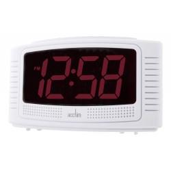 Acctim 14722 Vian Red LED Alarm Clock
